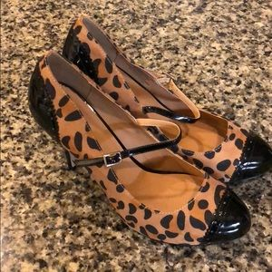 NBW Leopard Print Heels